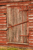 Farm door at Windsor Castle Park, Smithfield, VA Royalty Free Stock Image