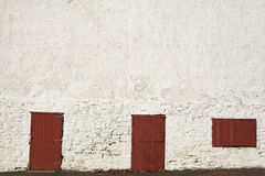 Farm doors and window Royalty Free Stock Photography