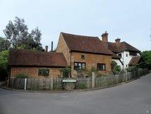 Farm du Roi John et Penn Cottage, Berry Lane, Chorleywood photographie stock