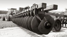 Farm equipment. Big Farm equipment stock image