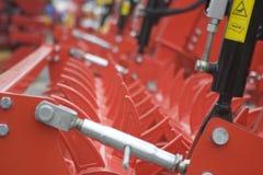 Farm equipment. Agricultural farm machinery, heavy equipment Royalty Free Stock Photos