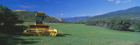 Farm equipment, Cuchara Valley, Highway of Legends, Route 12, Colorado Stock Image