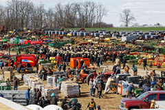 Free Farm Equipment For Sale At Auction Royalty Free Stock Photos - 88366978