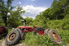 Farm Equipment Junkyard Landscape Royalty Free Stock Photography