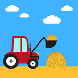 Farm equipment Vector illustration Royalty Free Stock Photography