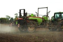 Farm Equipment at Work Royalty Free Stock Photo