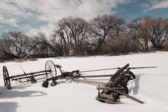 Farm equipment from yesteryear. Stock Photography
