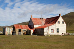 Farm on Falkland Islands Royalty Free Stock Image