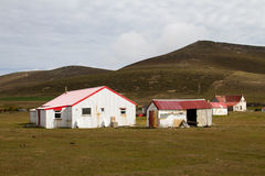 Farm on Falkland Islands Royalty Free Stock Images
