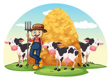 A farm Royalty Free Stock Images