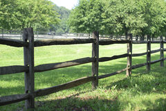 Farm Fence Royalty Free Stock Photography