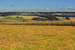 Farm Fields Royalty Free Stock Photos