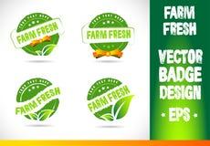 Farm fresh Badge Vector Royalty Free Stock Photos