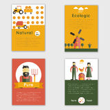 Farm Fresh Brochure Royalty Free Stock Photo