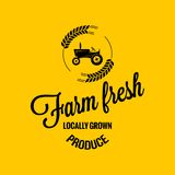 Farm fresh design background Royalty Free Stock Image