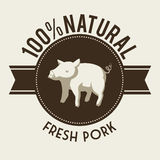 Farm fresh. Design, vector illustration eps10 graphic Royalty Free Stock Photos