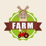 Farm fresh design Royalty Free Stock Image