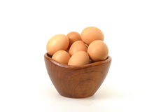 Farm Fresh Eggs royalty free stock photography