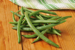 Farm fresh green beans Royalty Free Stock Photo