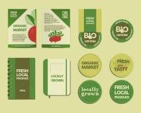 Farm Fresh Identity Royalty Free Stock Photography