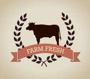 Farm fresh label Stock Photos