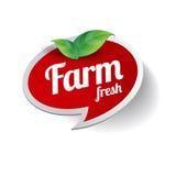 Farm Fresh label Royalty Free Stock Photography