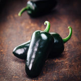 Farm fresh organic jalapeno Stock Photo