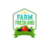 Farm Fresh and Organic Product Royalty Free Stock Photography