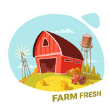 Farm And Fresh Products Concept Royalty Free Stock Images