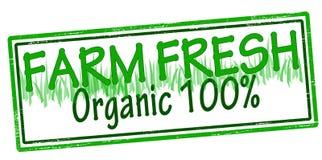 Farm fresh. Rubber stamp with text farm fresh inside, illustration royalty free illustration
