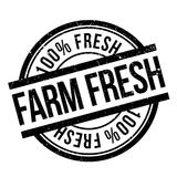 Farm fresh stamp Royalty Free Stock Images