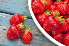 Farm Fresh Strawberries Stock Photography