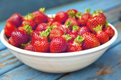 Farm Fresh Strawberries Royalty Free Stock Photos