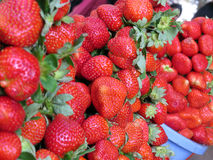 Farm Fresh Strawberries Stock Images