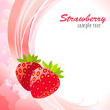 Farm Fresh Strawberries Royalty Free Stock Image