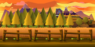 Farm Game Background Royalty Free Stock Images