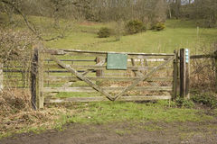Farm gate Royalty Free Stock Images