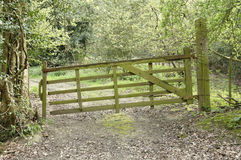 Farm gate Stock Photos
