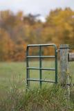 Farm Gate Stock Images