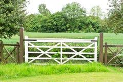 Farm gate Royalty Free Stock Photos