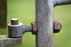 Free Farm Gate Pivot Hinge Stock Photos - 141560023