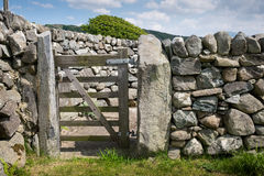 Farm Gate Royalty Free Stock Photos