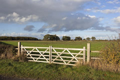 Farm gates Royalty Free Stock Photo