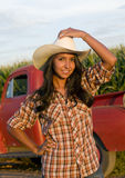 Farm Girl Royalty Free Stock Image