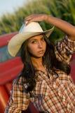 Farm Girl Stock Image