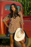 Farm Girl Stock Photography