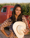 Farm Girl Royalty Free Stock Photos