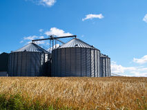 Free Farm Grain Silo Stock Image - 74538811