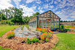 Farm green house Stock Image