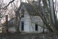 Farm Homes left Empty stock photography